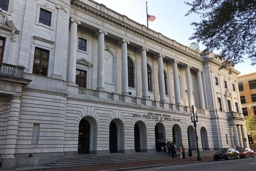 The John Minor Wisdom U.S. Court of Appeals building