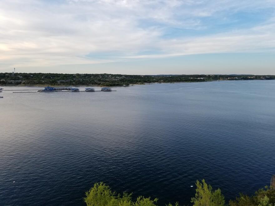 Lake Travis near Austin