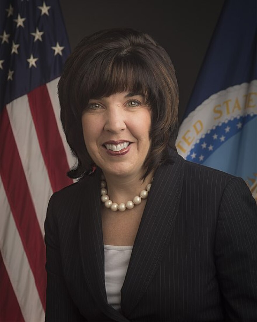 Anne Hazlett's official photo as USDA Assistant to the Secretary for Rural Development.