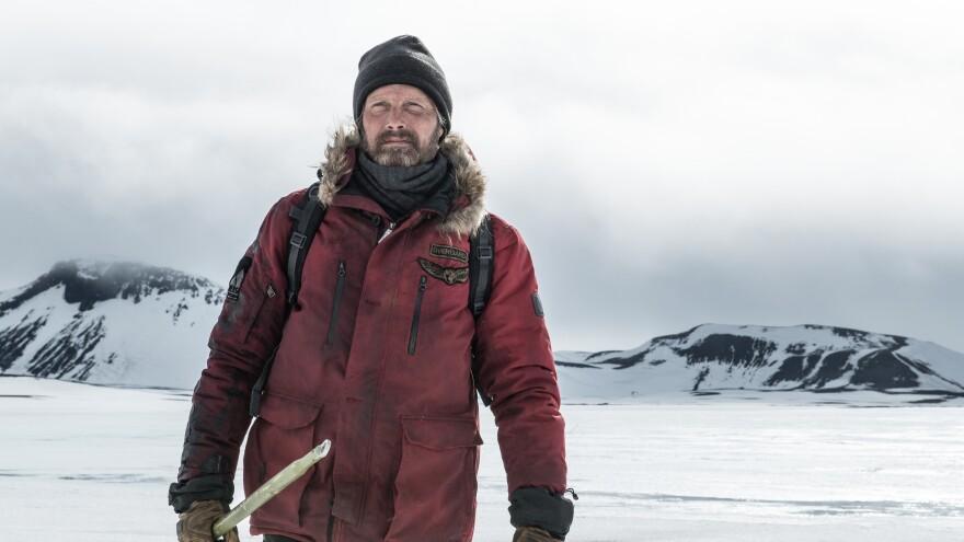 """Let it go/Let it go..."" In <em>Arctic</em>, Mads Mikkelsen gets stranded without a map; but it's the cold that <em>really</em> bothers him, anyway."