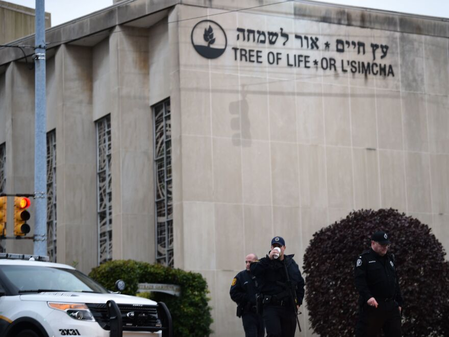 Robert Bowers was charged with 44 federal counts, including hate crimes, prosecutors announced on Wednesday. He is accused of killing 11 people at the Tree of Life Synagogue on Oct. 27.