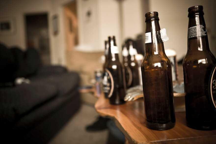Young people say they're most likely to have serious drinking problems.