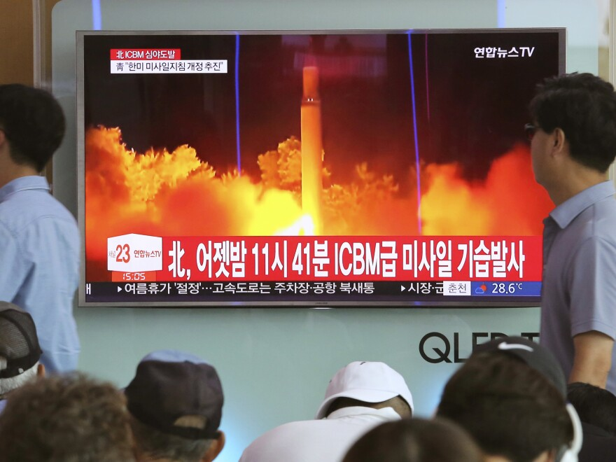 Ten Chinese and Russian companies as well as six individuals are targeted by a new round of U.S. sanctions aimed at curbing Pyongyang's weapons program. This follows a round of U.N. sanctions.