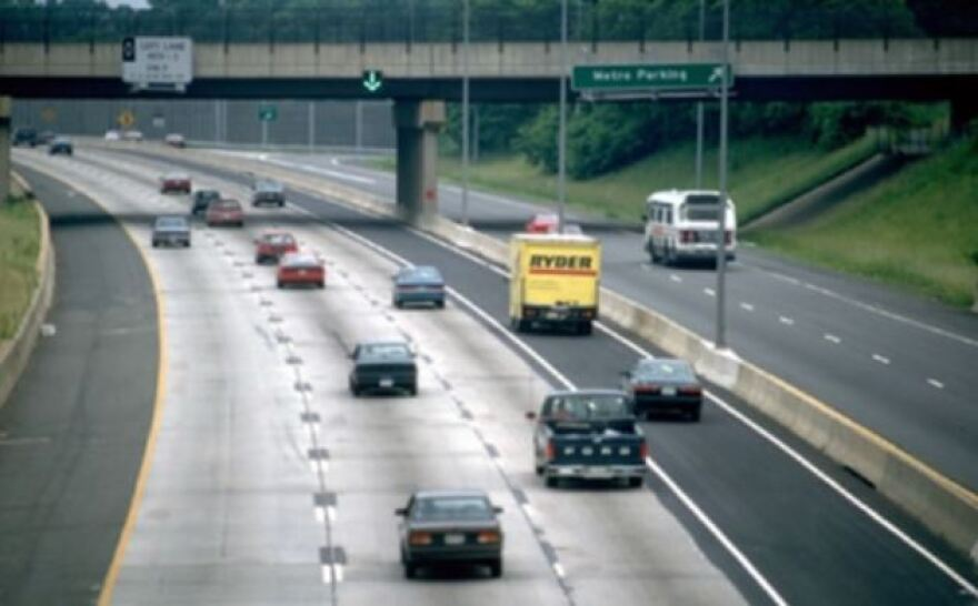 Shoulder lanes are used in Europe and some U.S. states, including I-66 in Virginia.