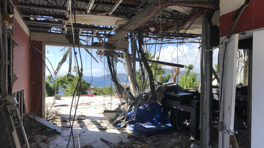 Tanya Marie-Singh, who heads Virgin Islands Public Broadcasting, hopes through a combination of FEMA funding and contributions, WTJX can build a new facility.