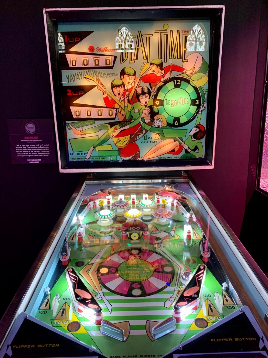 Part of the Machine: Rock and Pinball