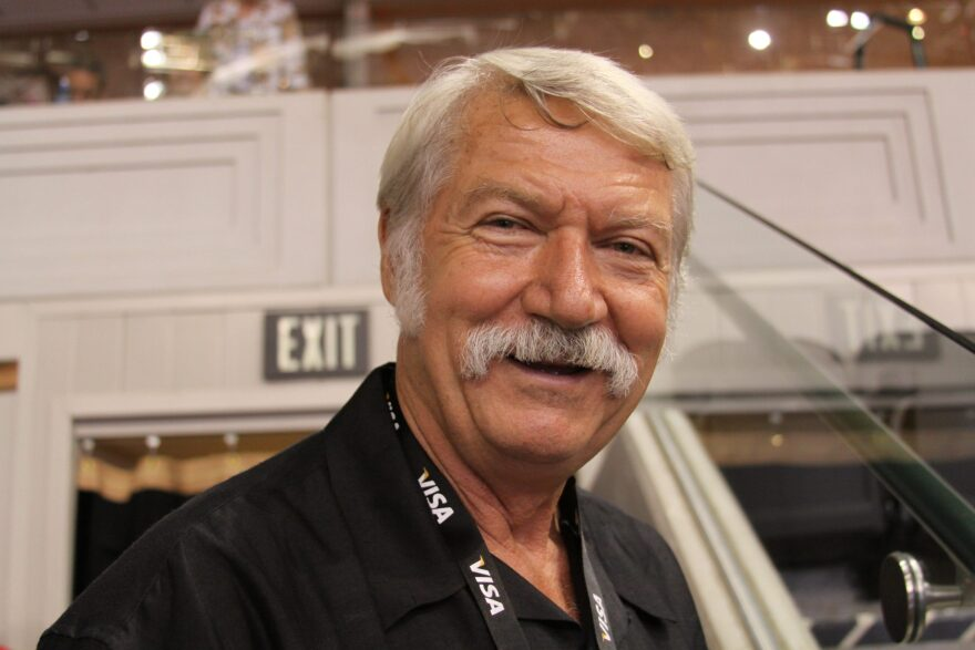 Bela Karolyi at the Visa Championships held in the American Airlines Center in Dallas on August 15th, 2009.