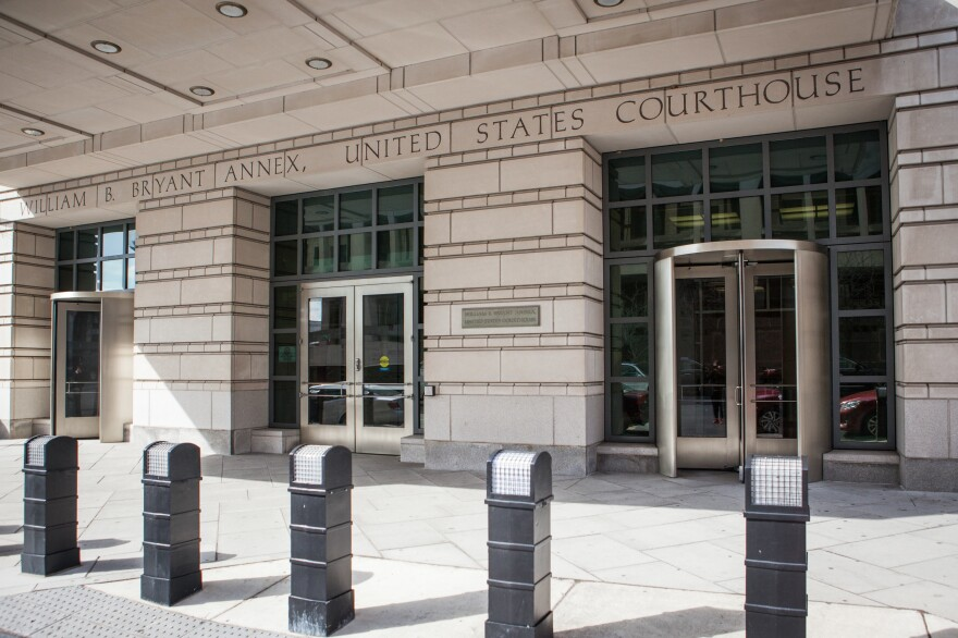 William B. Bryant Annex of the United States Court House in Washington, D.C., was where Hernan Giraldo Serna was sentenced to 198 months for conspiring to import cocaine in the United States.