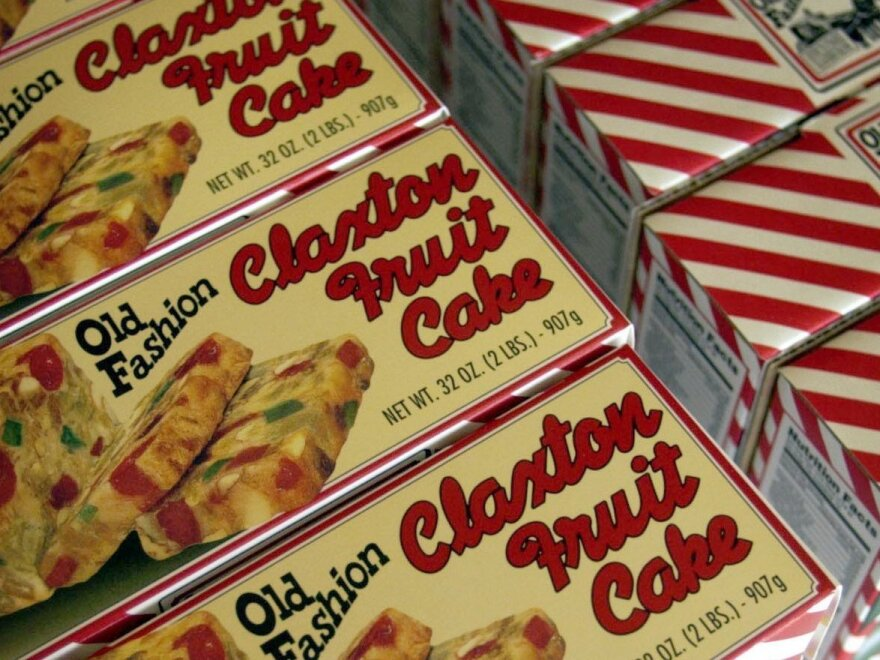 The Claxton Bakery in Georgia makes millions of pounds of fruitcake each year.