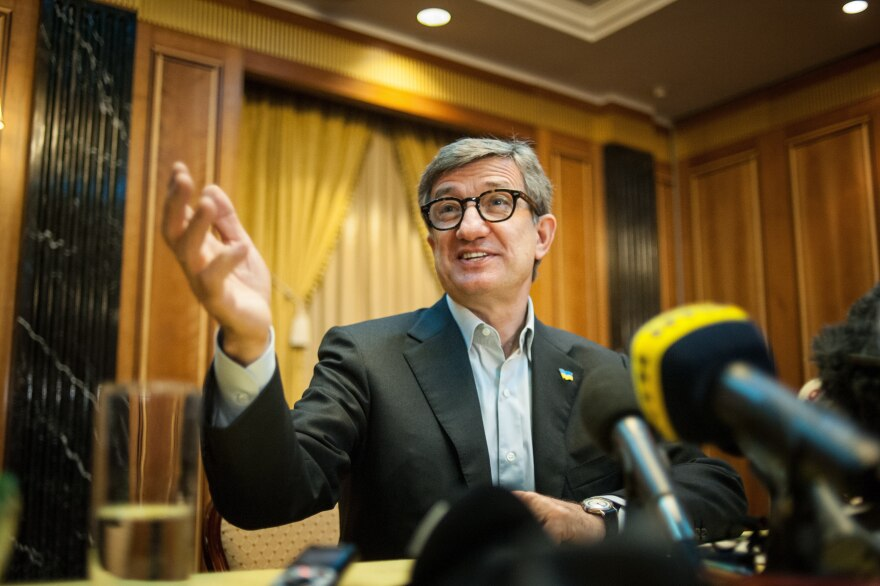 Serhiy Taruta, appointed governor of the Donetsk region, says the east won't last long on its own without support from the government in Kiev.