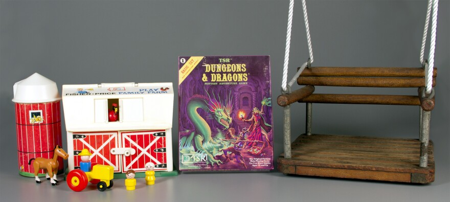Fisher-Price Little People, the role-playing game Dungeons & Dragons and the simple swing are now in the National Toy Hall of Fame.