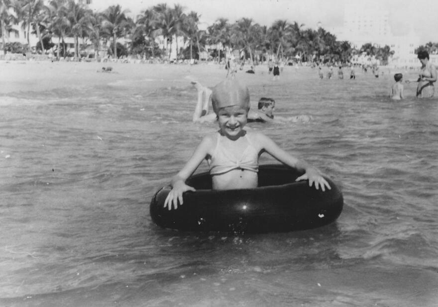 """Judy Blume's family came down to Miami Beach in the winters of 1946 and 1947 because of concerns about her brother's health. But to Blume this was a happy place. """"I loved the freedom of living here,"""" she recalls."""