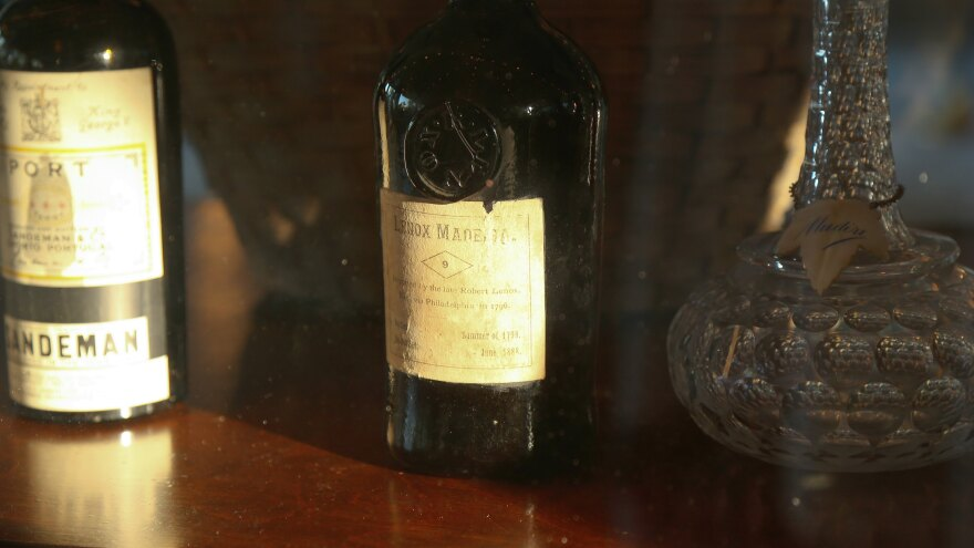Madeira, the fortified wine imported from the Portuguese island of the same name, was a popular beverage for the wealthy elite in 18th-century America.
