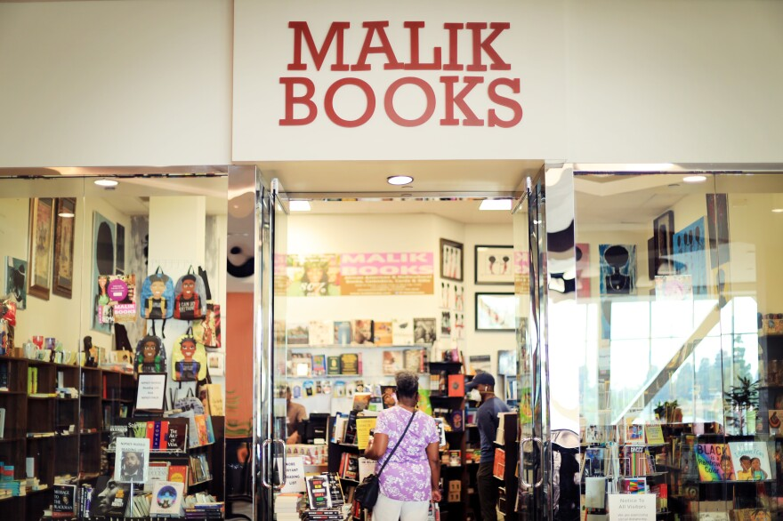 Malik Books is in Baldwin Hills Crenshaw Plaza, a historically Black mall in Los Angeles.