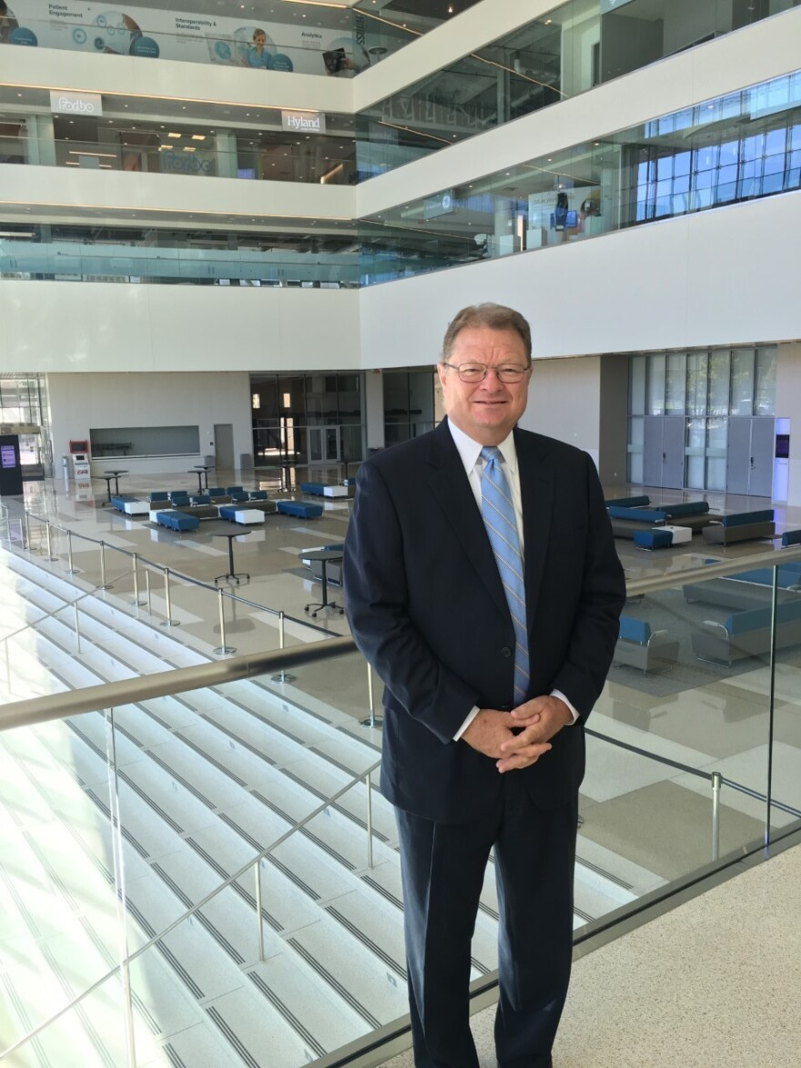 Cleveland convention center General Manager Mike Leahy