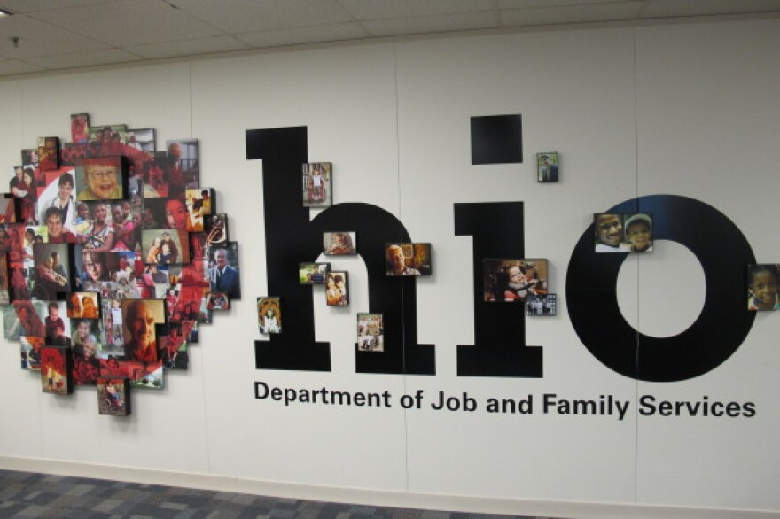 The logo for the Ohio Department of Job and Family Services