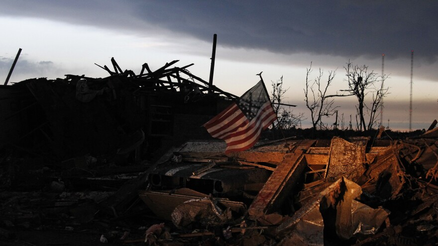 With a city still in shambles from a deadly tornado, high school students in Moore, Okla., are graduating Saturday.