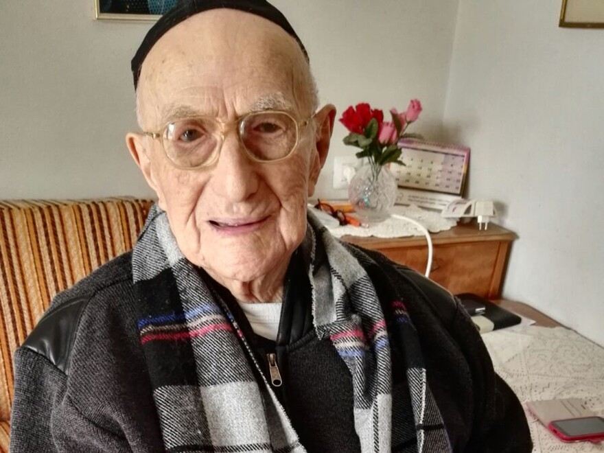 Yisrael Kristal is a Holocaust survivor and the world's oldest man, according to Guinness World Records. He celebrated his long-delayed bar mitzvah this week at the age of 113.
