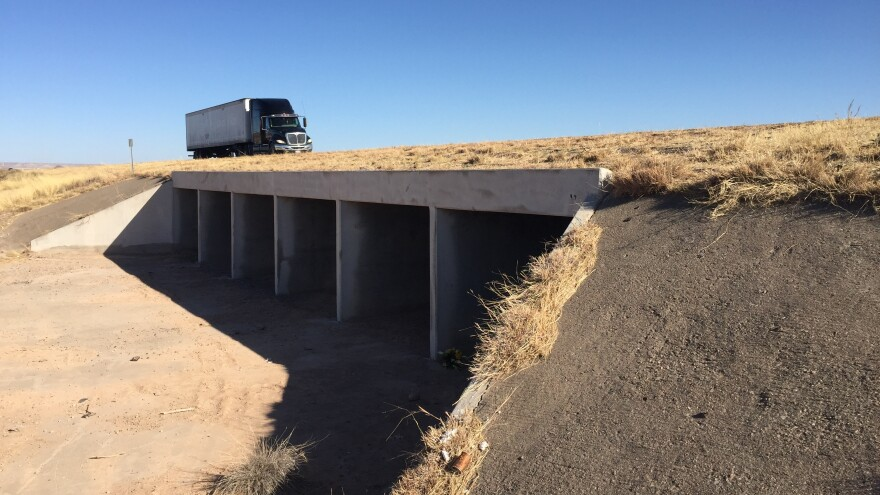 On the night of Nov. 18, Sheriff Oscar Carrillo responded to a report of a Border Patrol agent down in this culvert.