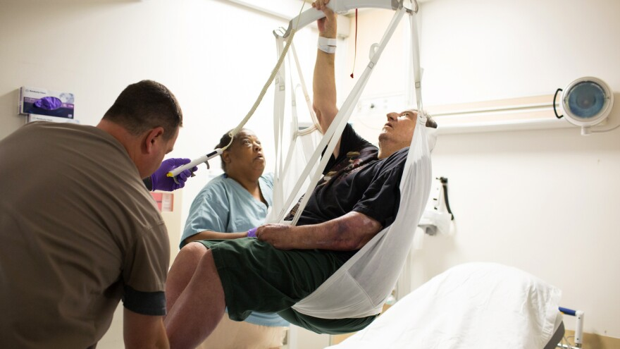 A South Florida lawmaker wants hospitals to do more to prevent injuries caused by lifting patients.