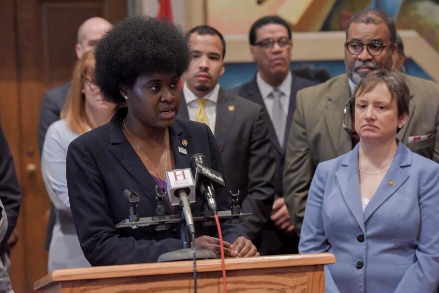 State Rep. LaKeySha Bosley, D-St. Louis