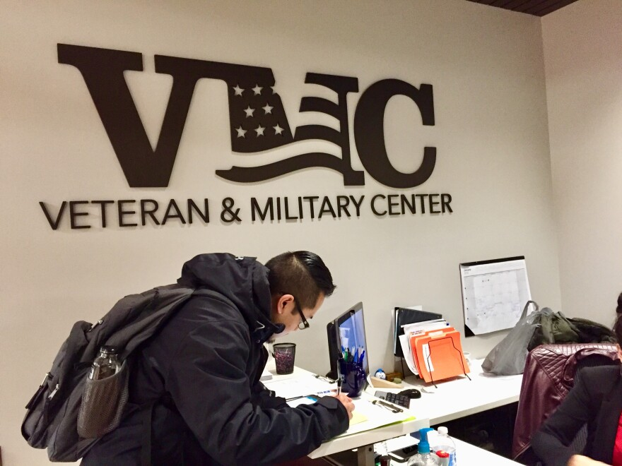 Veteran and Military Center at Wright State University