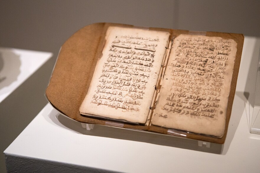 Brought to America as a slave, Bilali Muhammed wrote this 13-page Muslim text in Arabic.