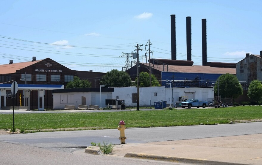 Most of the operations at Granite City Steel were put on hold in early 2016.