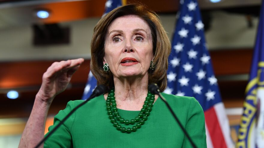 House Speaker Nancy Pelosi said on MSNBC Tuesday that after the coronavirus relief bill is passed, lawmakers will consider options for replacing in-person voting.