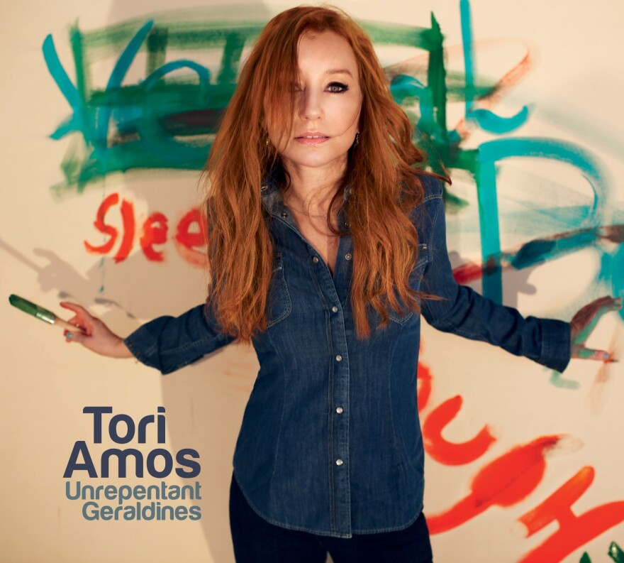 The cover of Tori Amos' Unrepentant Geraldines.