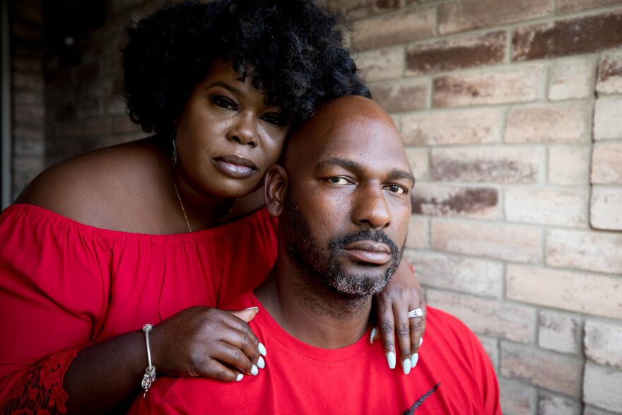 After serving 20 years in prison, Ed Ates savors life at home with his wife, Kim Ates.