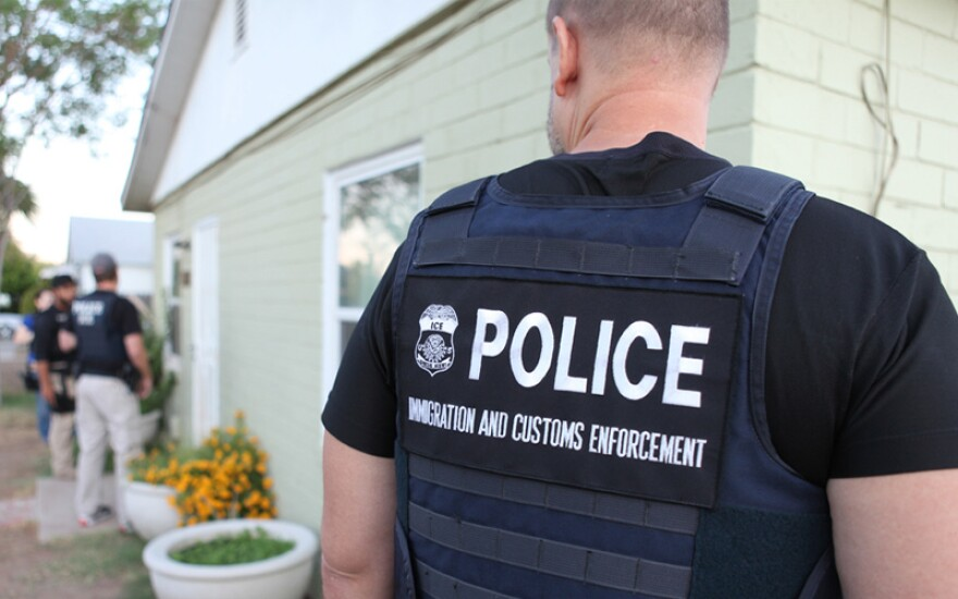 Photo of ICE officer.