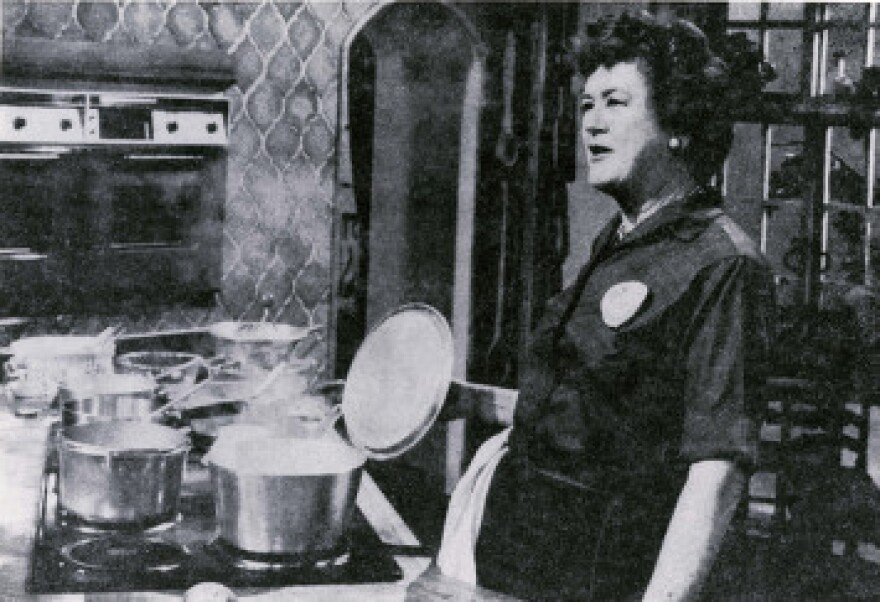 Julia Child at KUHT.