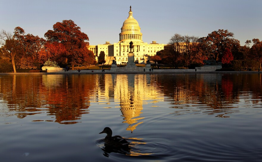 The Capitol on Monday, as Congress prepared to return for its post-election lame duck session.