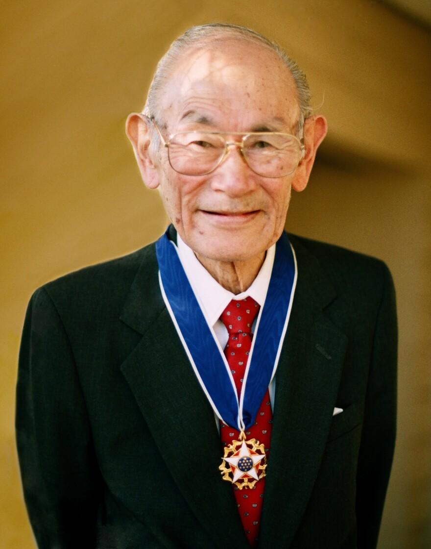 Fred with medal, SG EDITED, Shirley Nakao, mediumres.jpg
