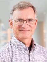 John Burnett at NPR headquarters in Washington, D.C., September 27, 2018. (photo by Allison Shelley)