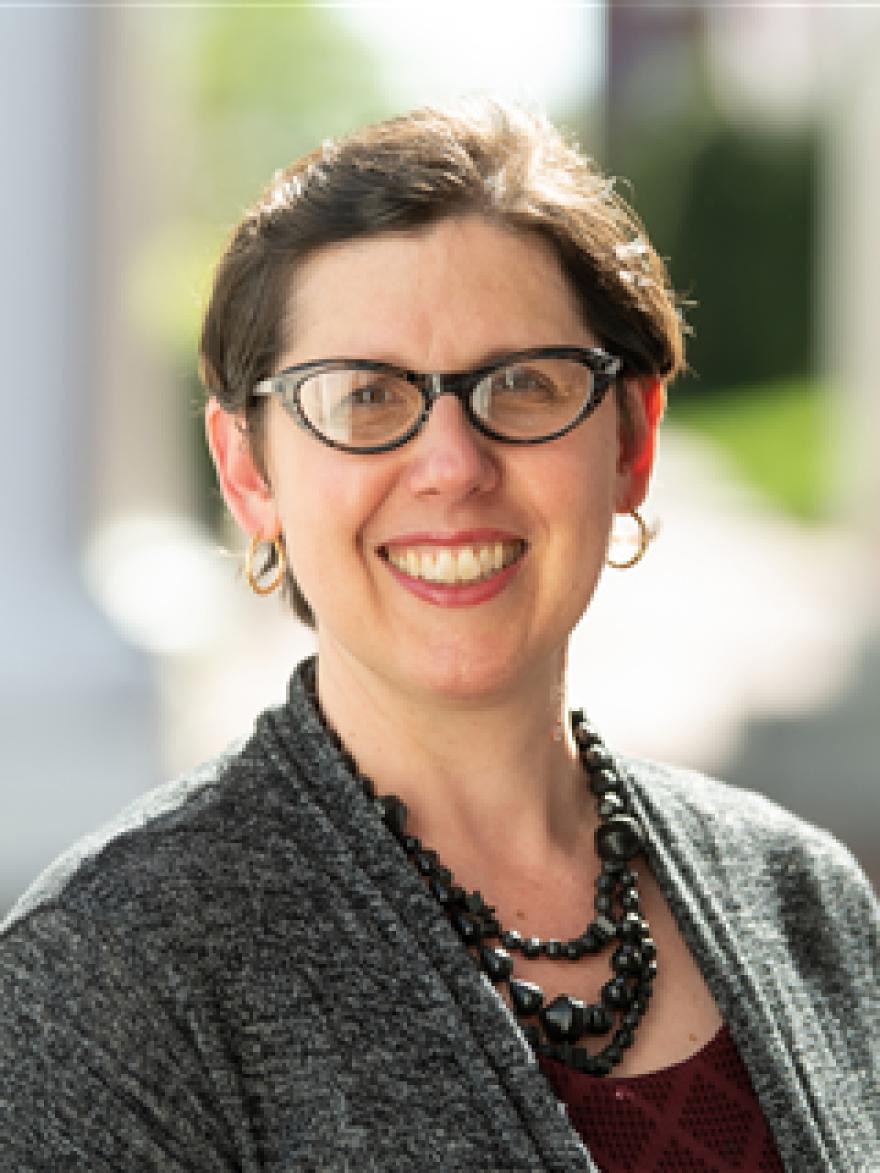 Professor Lynn Rainville's photo portrait