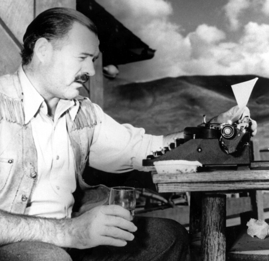 """Ernest Hemingway<em> </em>once said, """"A man does not exist until he is drunk."""""""