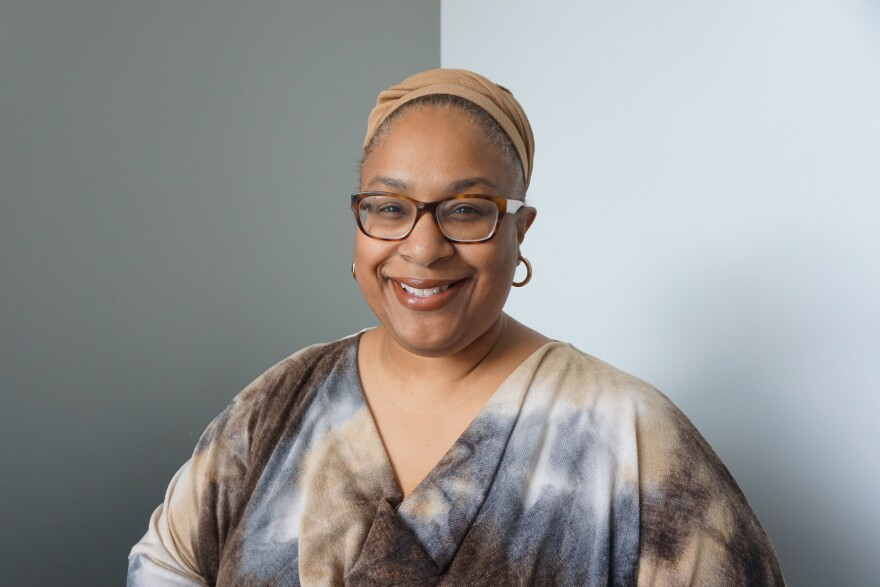 Hana Sharif took over as the artistic director of the Repertory Theatre of St. Louis in September.
