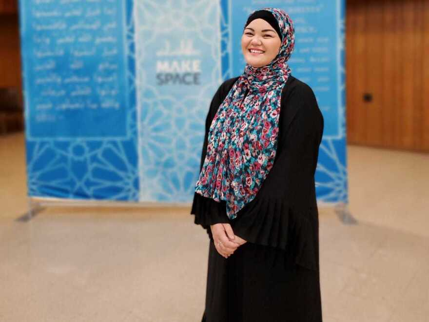 Mounira Madison is the program director of Makespace, a Muslim community center in Virginia. She converted to Islam in 2016 and helps other converts with their transitions.