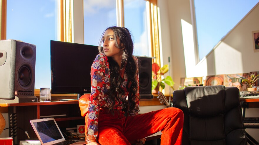 """I need to be involved in every step of the process,"" Raveena says. In addition to songwriting, the artist has directed many of her own videos and oversees the staging of her live shows."
