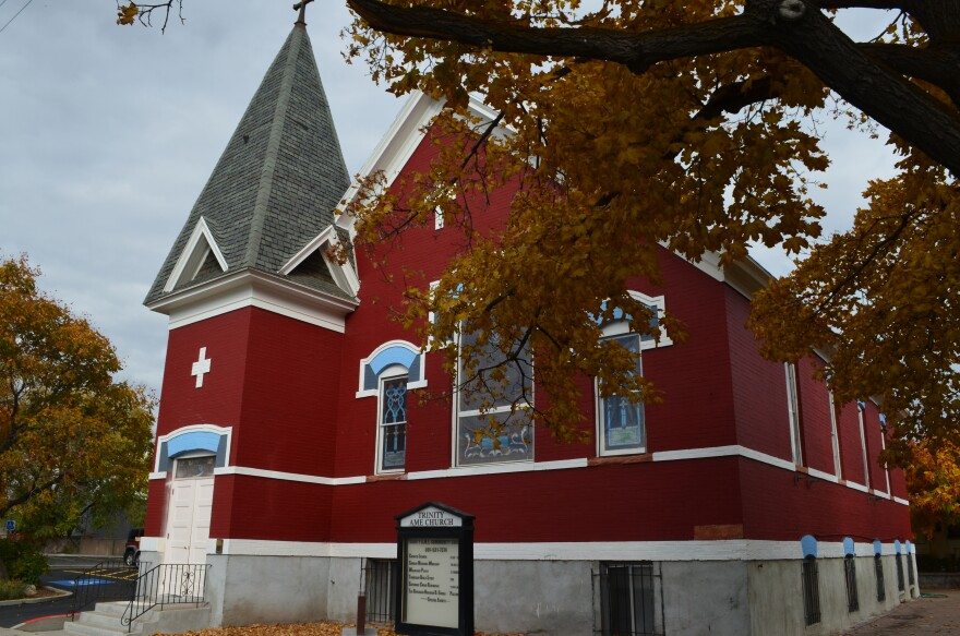 Photo of church.