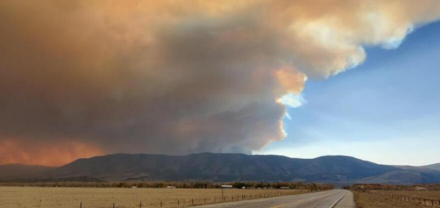 The Mullen Fire, one of the biggest wildfires in the region, has burned more than 175,000 acres in the Medicine Bow National Forest in Wyoming and Colorado.