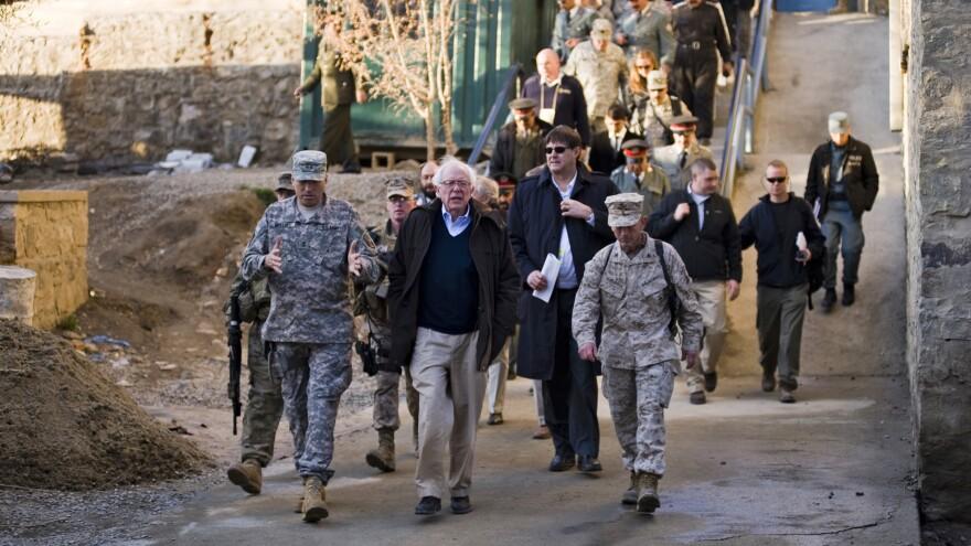 Sen. Bernie Sanders visited Afghanistan in 2011 as part of a delegation.