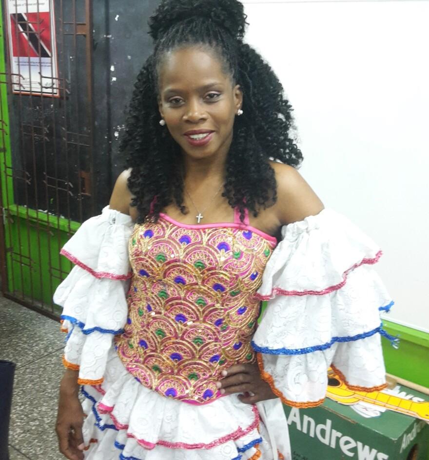 Alicia Jaggasar is the leader of Los Alumnos de San Juan and also heads the National Parang Association.