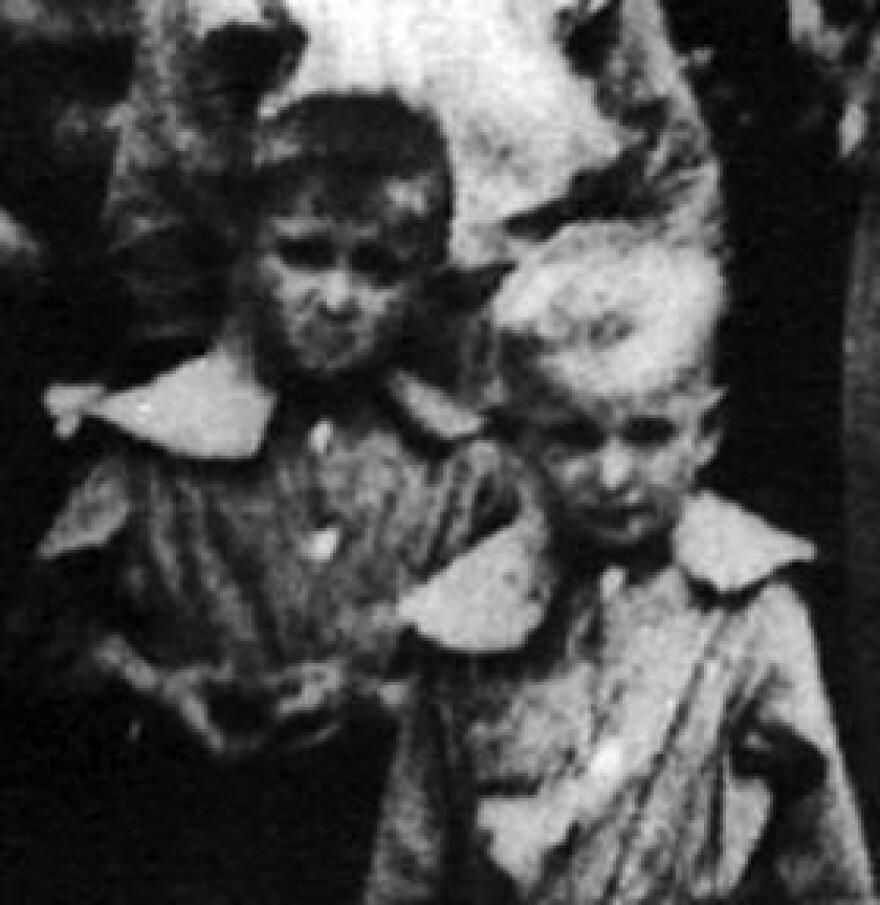 Thomas Varnadoe (right) in an undated family photo. Varnadoe died in 1934 at the age of 13 at the Dozier Reform School for Boys.