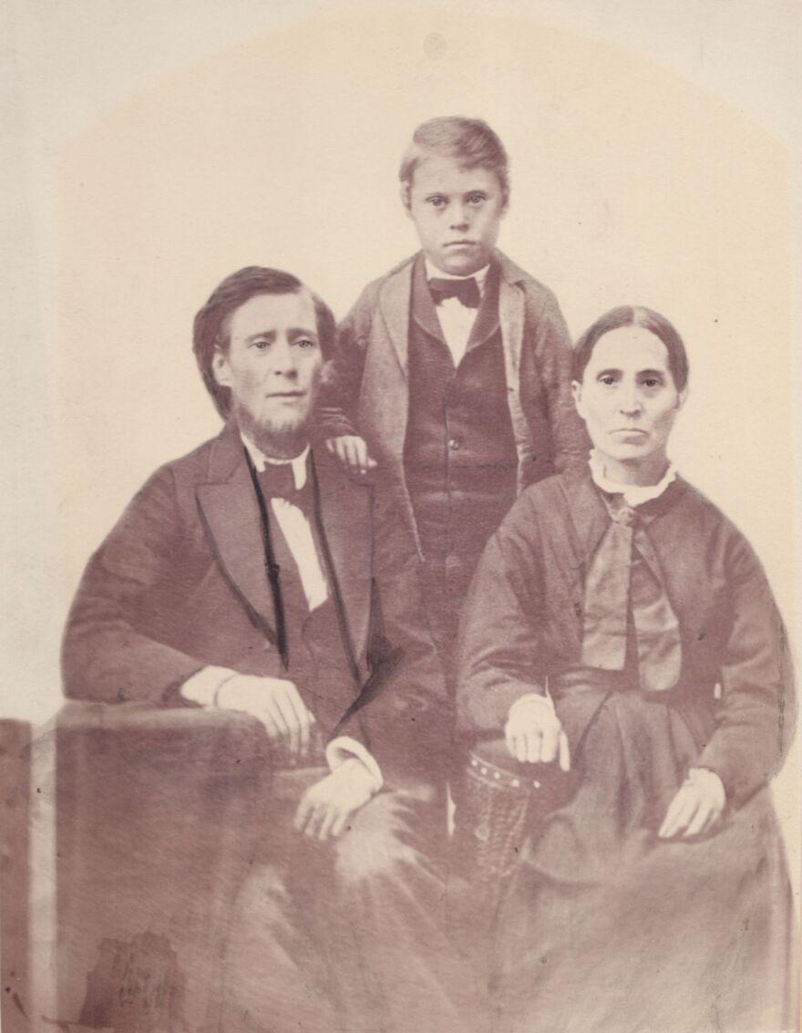 Photo of Humphrey Family.