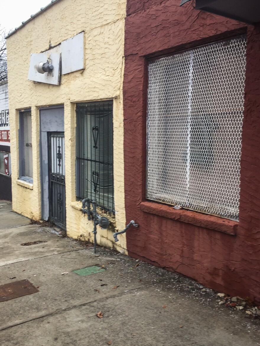 Keitra Bates plans to buy and renovate this building so that home cooks in gentrifying west Atlanta will have a place to bake and sell their goods.
