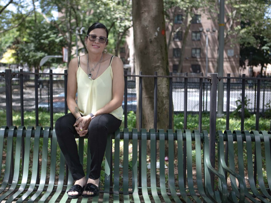 Since her recovery from COVID-19, Nancy Perez has volunteered regularly with Bed-Stuy Strong, a mutual aid group in her Brooklyn neighborhood, Bedford-Stuyvesant.