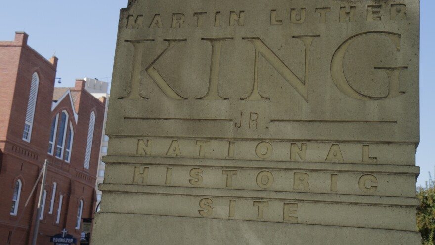 The Martin Luther King, Jr. National Historic Site in Atlanta is open for the first time in nearly a month, after a grant from the Delta Air Lines Foundation made up for the lack of federal funds from the partial government shutdown.